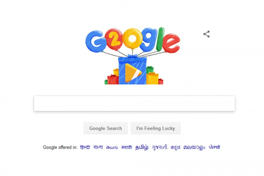 Google's Birthday: Doodle Walks Down 20 Years Of Memory Lane