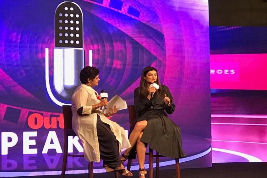 Outlook SpeakOut 2018   When You Disrespect A Woman, You Disrespect Your Mother: Sushmita Sen