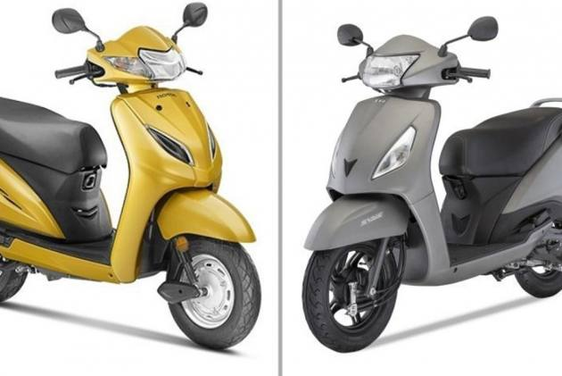 Terrific Honda Activa 5G Vs Tvs Jupiter Specifications Comparison Caraccident5 Cool Chair Designs And Ideas Caraccident5Info