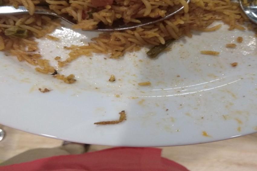 Caterpillar Found In IKEA Hyderabad's Veg Biryani, Civic Body Imposes Rs 11,500 Fine
