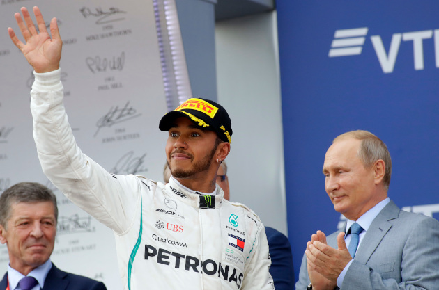 Lewis Hamilton Wins Intriguing Russian Grand Prix, Extends Lead In Title Race