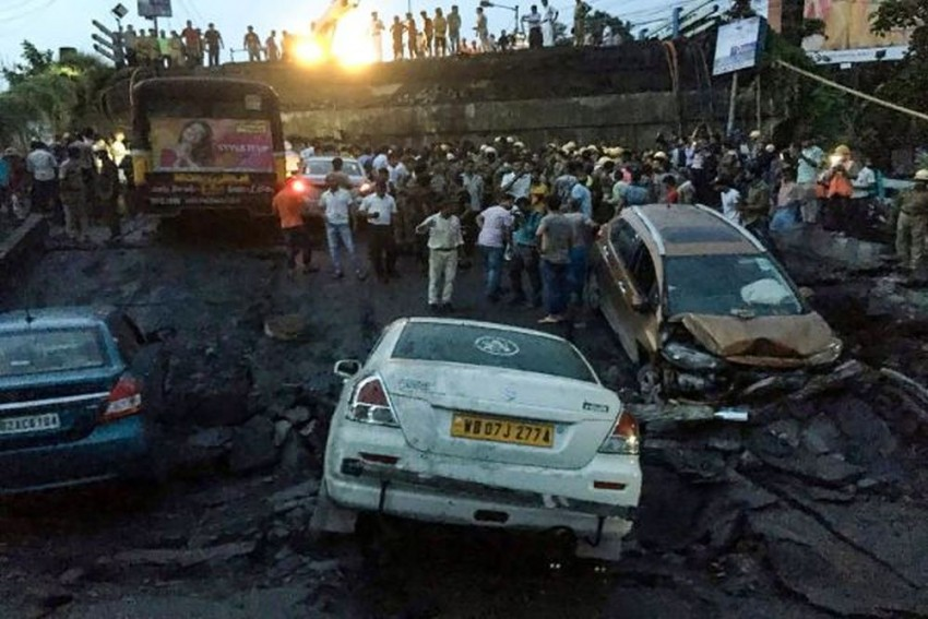 Kolkata Bridge Collapse: Traffic Services Hit, Trains Affected