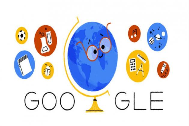 Google Celebrates Happy Teachers' Day With Doodle