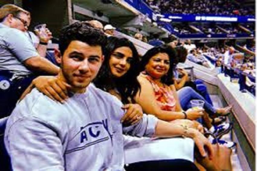 Priyanka Chopra  Enjoying Family Time At The US Open