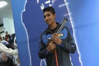 Saurabh Chaudhray Shoots Gold Again, Betters Own World Record