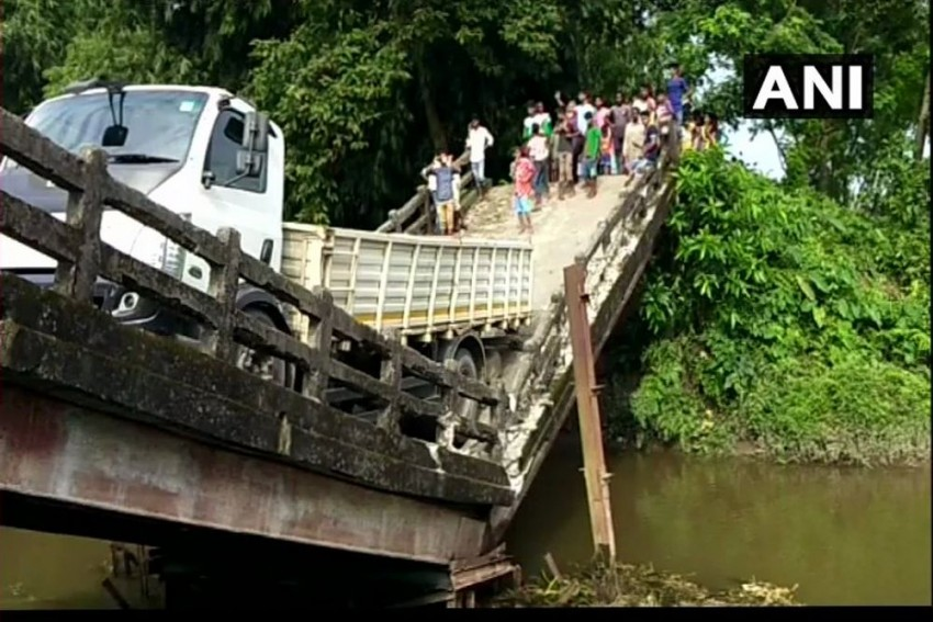 Bridge Collapses In West Bengal's Siliguri, Rescue Operation Underway