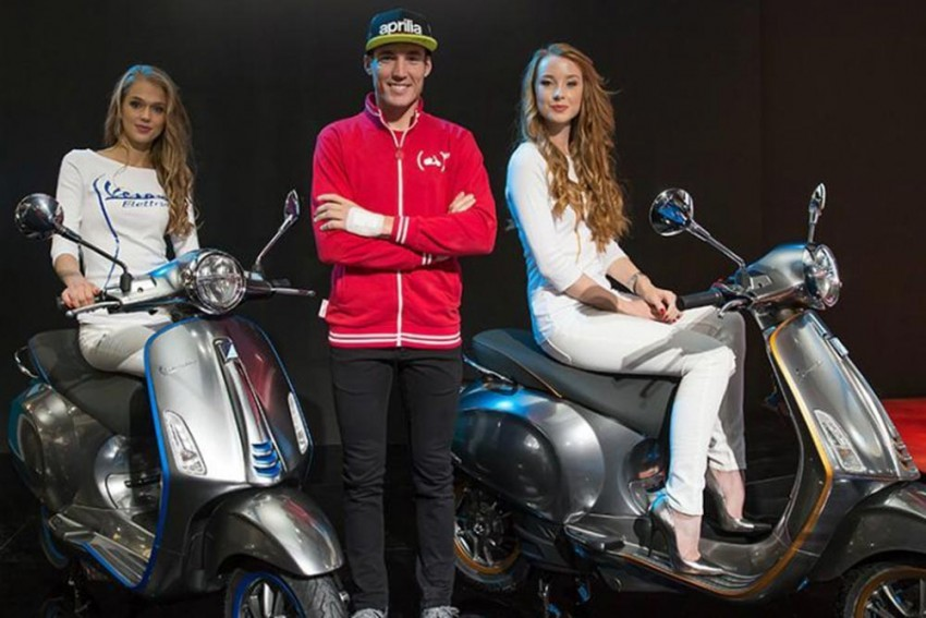 Vespa Electtrica To Roll Into Production This Month