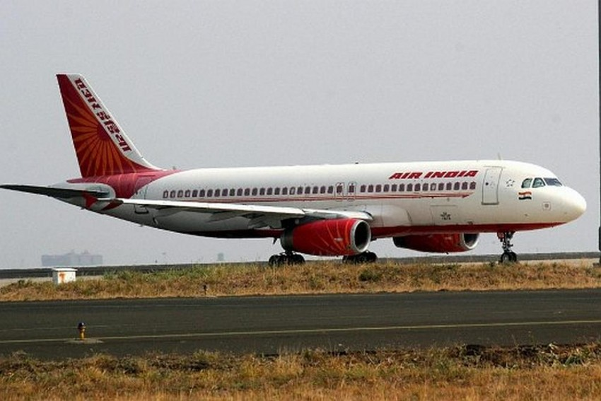 Air India Plane Lands At Under Construction Runway In Male Airport