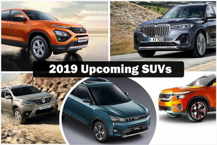 Upcoming SUVs In 2019: Tata Harrier, Renault Duster, Nissan Kicks, Mahindra XUV300 & More Cars