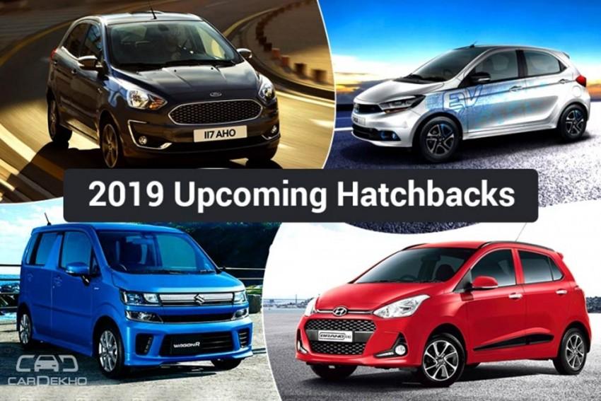 Upcoming Hatchbacks In 2019: Maruti WagonR, Ford Figo, Hyundai Grand i10 & More Cars