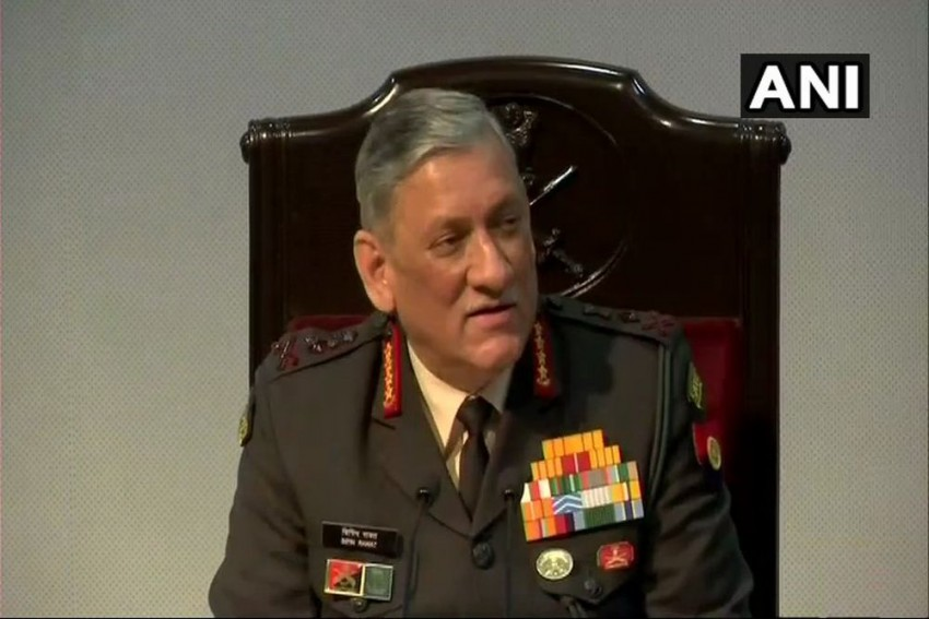 We Are Only Facilitators For Peace In J&K: Bipin Rawat