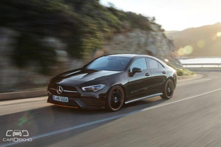 New Mercedes-Benz CLA Coupe Unveiled, Expected In India In 2019-20