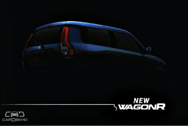 New Maruti WagonR 2019 First Official Images Teased Ahead Of Launch