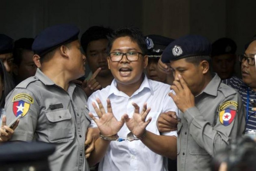 Reuters Journalists Lose Appeal Against 7-Year Sentence In Myanmar Court