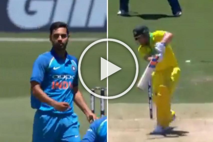 Australia Vs India, 1st ODI: Bhuvneshwar Kumar Reaches 100-Wicket Mark In Style – Watch