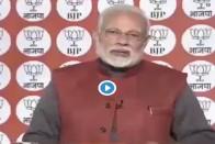 Watch: On NaMo App Survey, PM Modi Asks Question On Grand Alliance