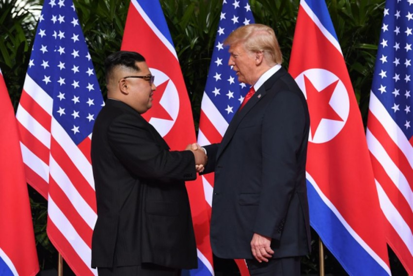 Donald Trump Sends Letter To Kim Jong-Un Negotiating Details Of Second Meeting