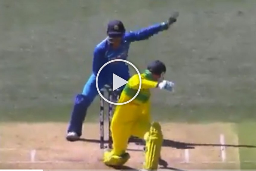 Australia Vs India, 2nd ODI: MS Dhoni Special Forces Peter Handscomb To Walk Even Before Umpire Signals Out – WATCH