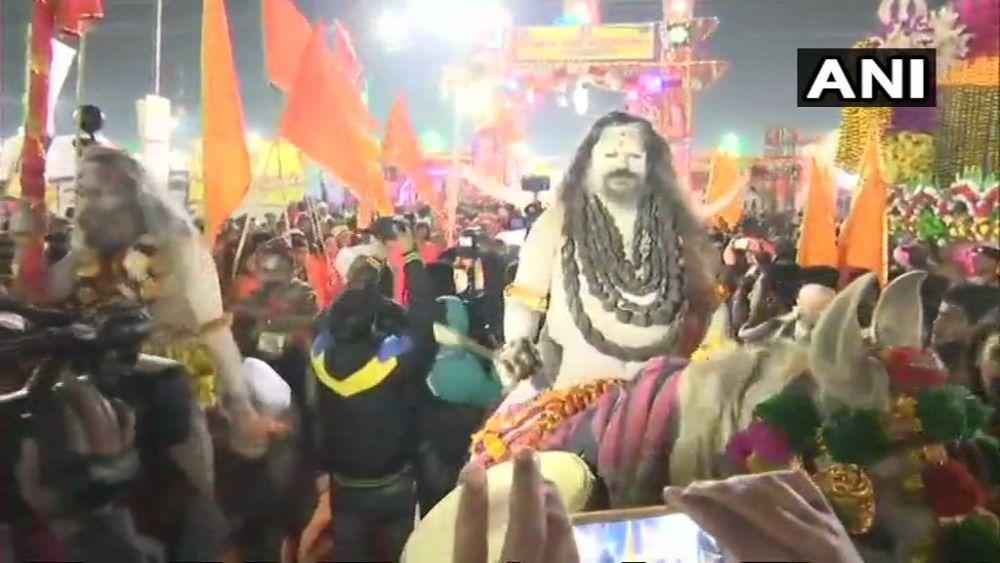 Kumbh Mela Opens At Prayagraj, Thousands Of Devotees Take Holy Dip On Makar Sankranti