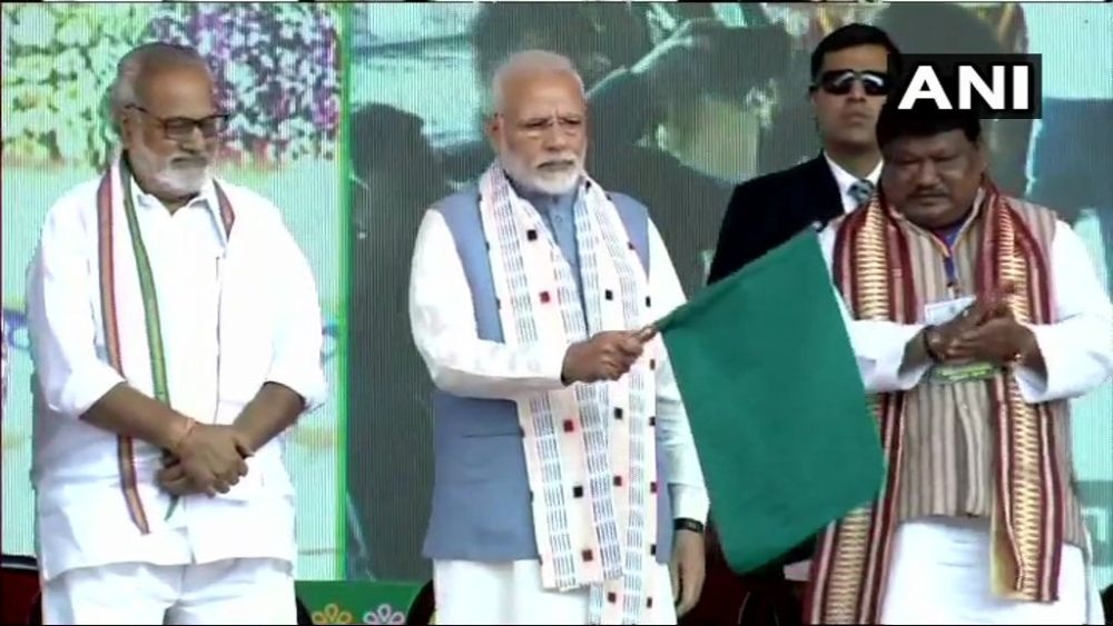 PM Modi Unveils Projects Worth Over Rs 1,550 Cr In Odisha