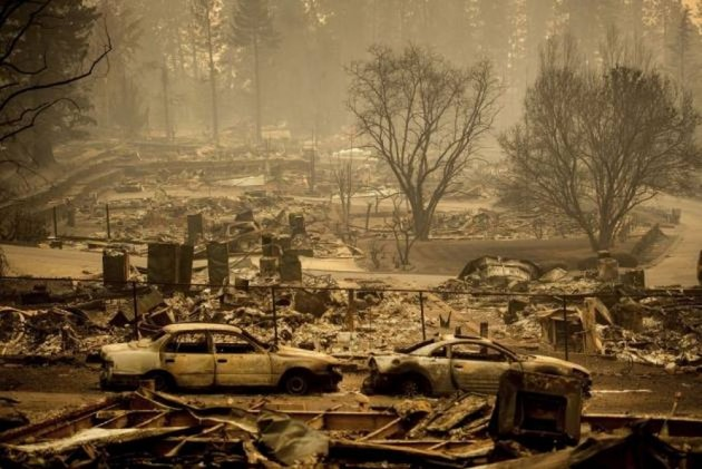 Utility Company Tied To California Wildfires To File For Bankruptcy