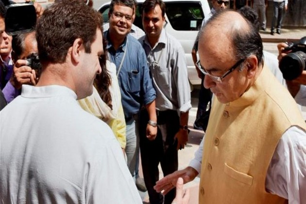 'We Are With You And Your Family': Rahul Gandhi Wishes Arun Jaitley Speedy Recovery