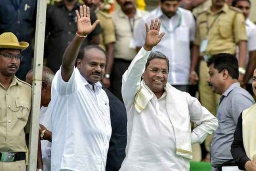 Karnataka Will Be Relieved if Government Falls Due To Its Internal Feuds: BJP