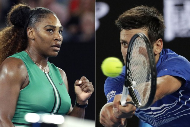 Australian Open Serena Williams Novak Djokovic Enter Third Round