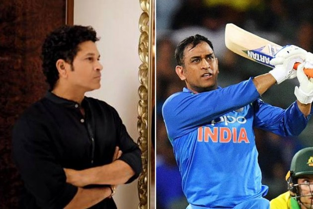 MS Dhoni Looked A Different Player From Ball One In Adelaide Run Chase: Sachin Tendulkar