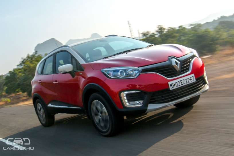 Renault Captur Prices Drop; RXT Dual-Tone, Platine Variants More Affordable