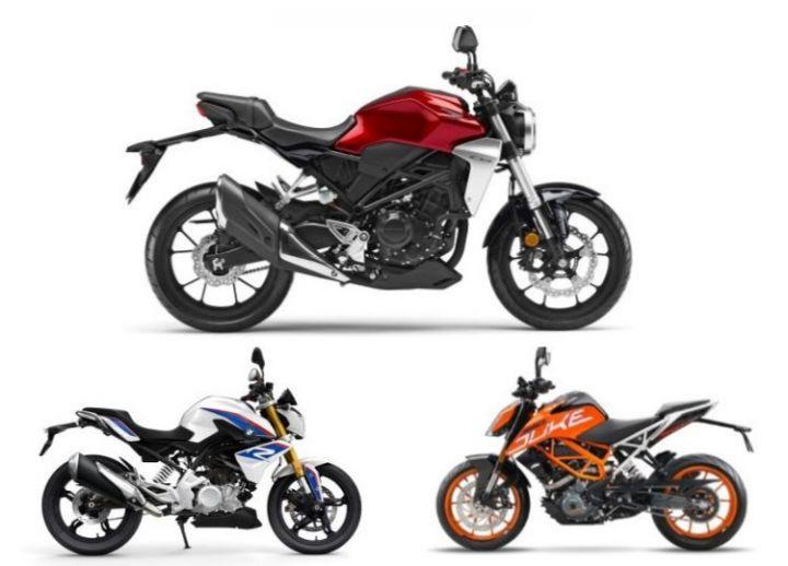 Honda CB300R vs KTM 390 Duke vs BMW G 310 R: Spec Comparison
