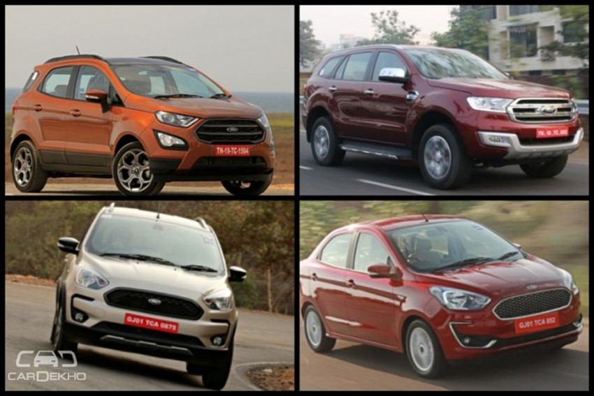 January 2019 Waiting Period On Ford Cars: When Can You Get Delivery Of New Aspire, Freestyle, EcoSport, Endeavour
