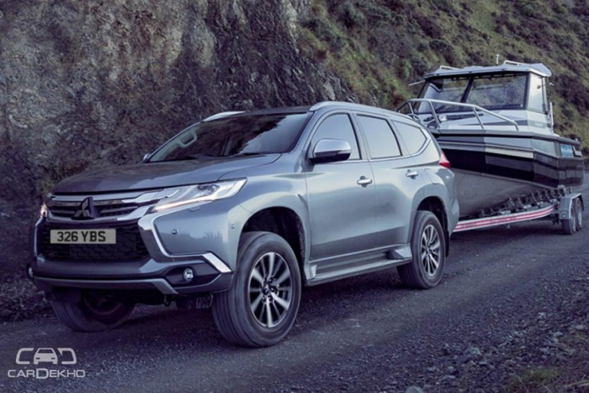 2019 Mitsubishi Pajero Sport Facelift Spied For The First Time; Might Come To India