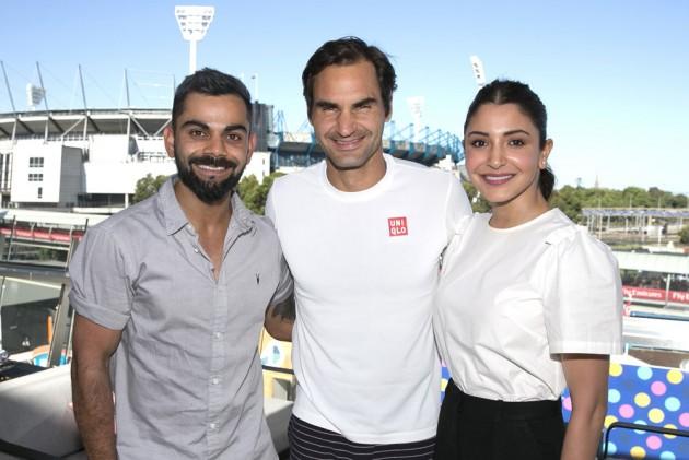 Virat Kohli And Anushka Sharma Meet Tennis Great Roger Federer, Fans Troll 'Australian Open' For 'Legends' Post