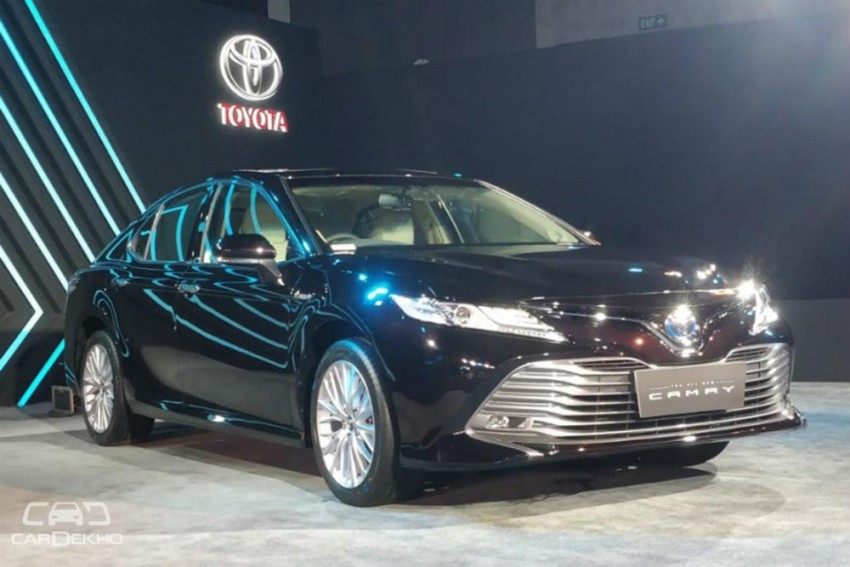 2019 Toyota Camry Launched In India At Rs 36.95 lakh