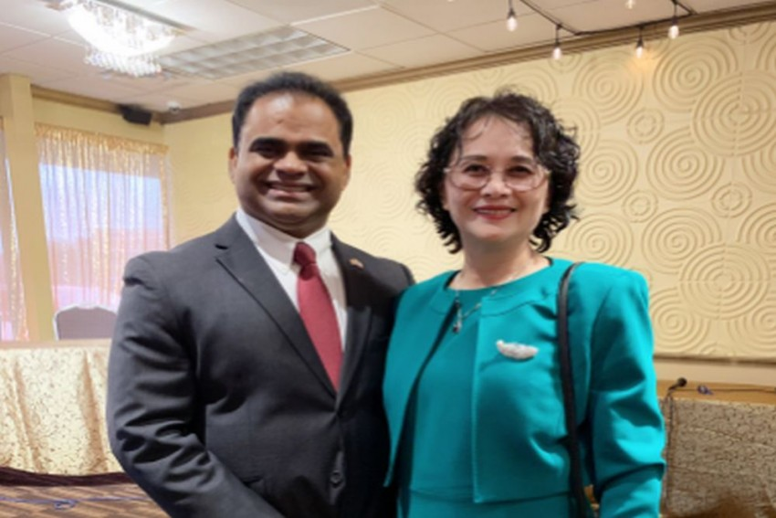 Indian-American Takes Oath As County Judge In Texas, First From Community