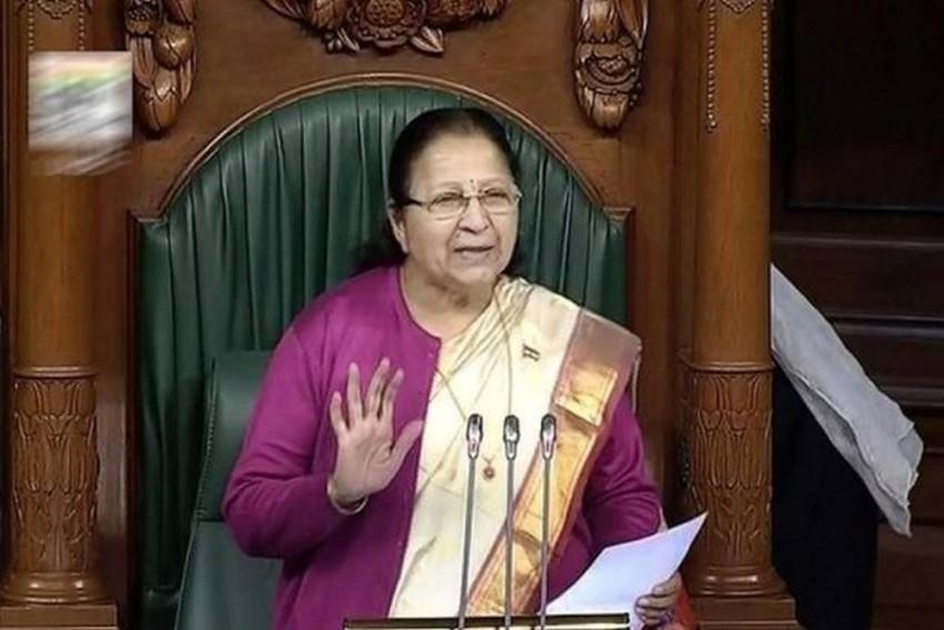 26 AIADMK, TDP Members Suspended By Lok Sabha Speaker Sumitra Mahajan
