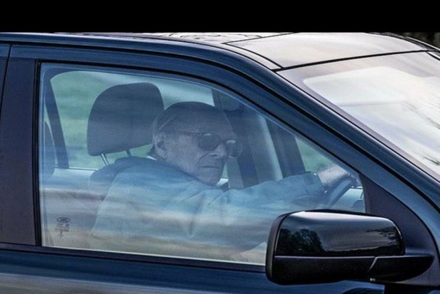 Britain's Prince Philip Spotted Driving Without Seatbelt Two Days After Accident