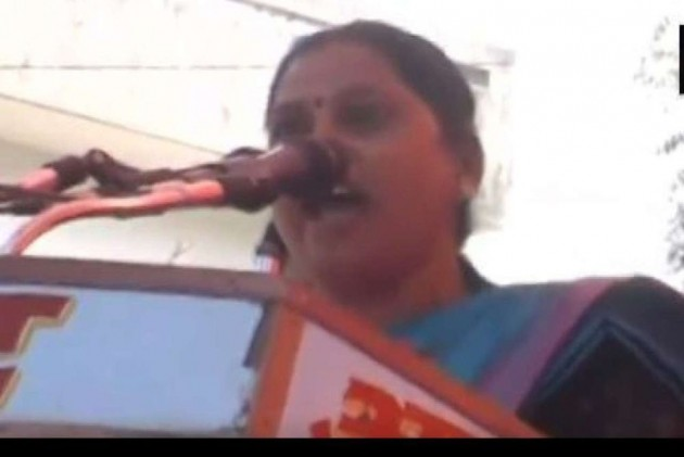 BJP MLA Sadhana Singh Apologises For Her <em>'Eunuch'</em> Remark On Mayawati