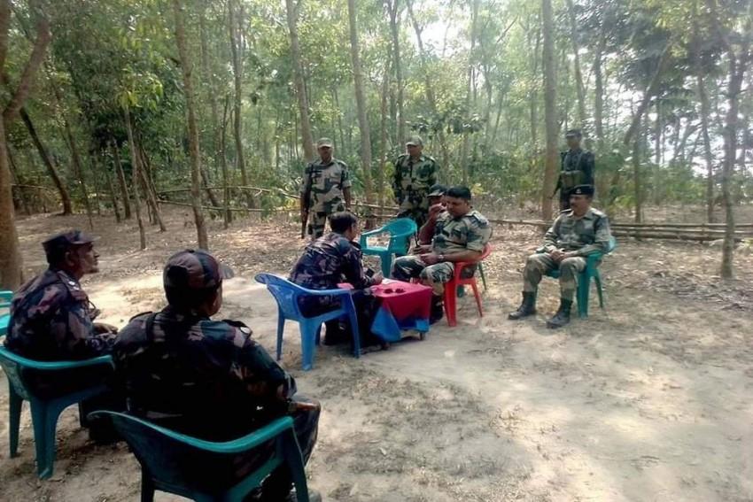31 Rohingya Muslims Apprehended At India-Bangladesh Border Arrested