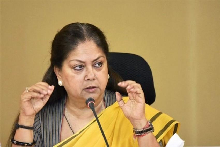 Congress Govt On Resting Mode, Failed To Tackle Swine Flu Menace In Rajasthan: Vasundhara Raje