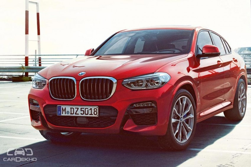 BMW X4 Launched At Rs 60.6 Lakh