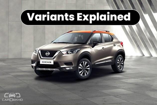 Nissan Kicks Variants Explained Xl Xv Xv Premium Xv Premium