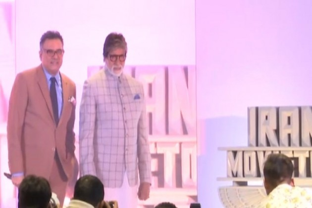 Boman Irani Launches Production House, Amitabh Bachchan Unveils Banner