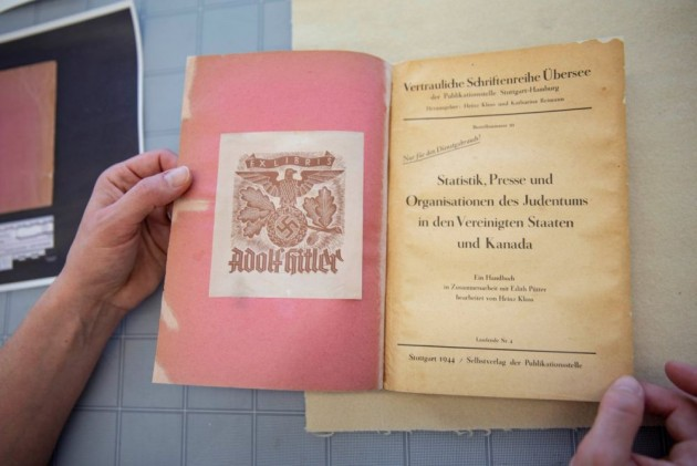 Canada Acquires Rare Book From 1944 Previously Owned By Adolf Hitler
