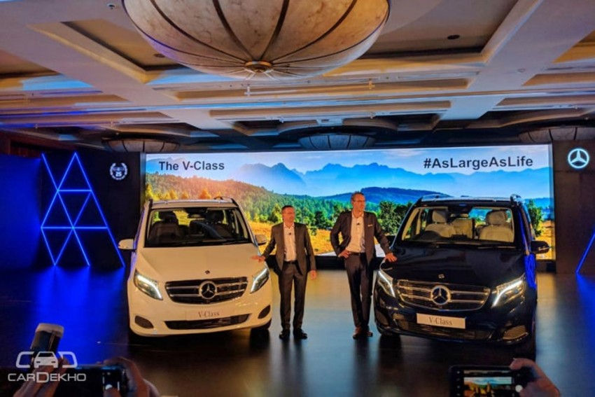 Mercedes-Benz V-Class Launched, Price Starts At Rs 68.40 lakh