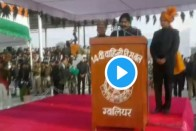 Video: MP Minister Imarti Devi Fails To Read Republic Day Speech, Asks Collector To Help