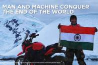 Bajaj Dominar Becomes First Indian Bike To Be Ridden In Antarctica