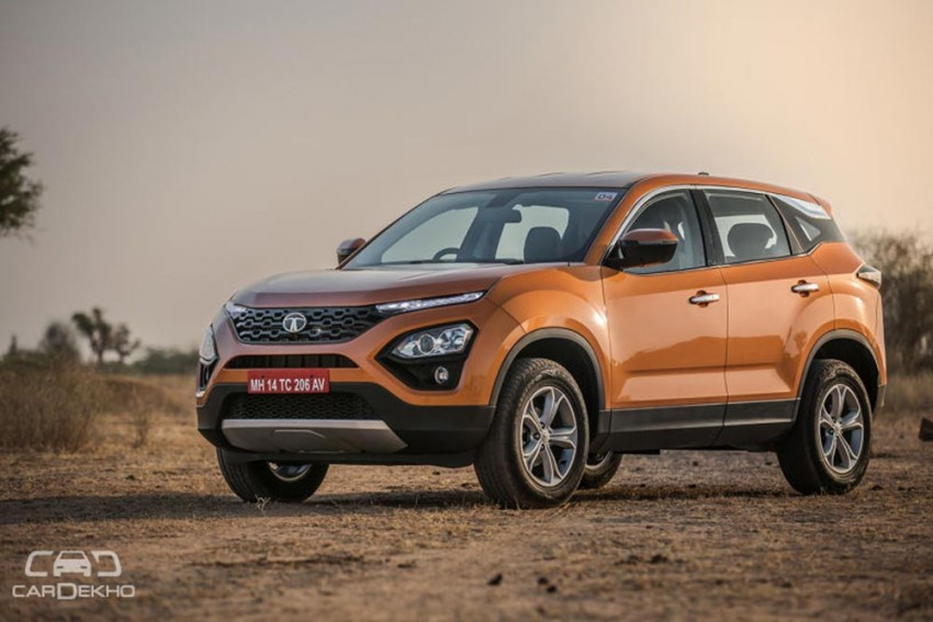 Tata Harrier With More Powerful Engine Coming Soon
