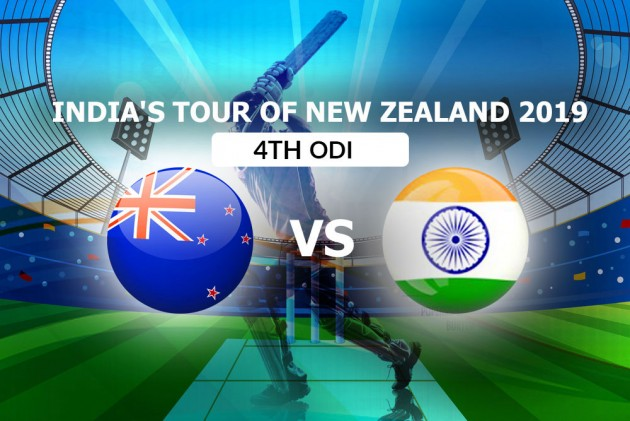 New Zealand Vs India, 4th ODI: Live Streaming, TV Guide, India's Likely XIs, Date, Time And Venue